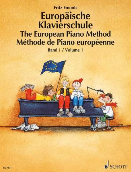 Europäische Klavierschule Band 1 ohne CD Fritz Emonts