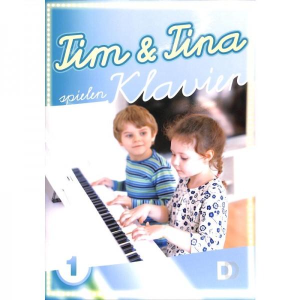 Tim + Tina spielen Klavier Band 1