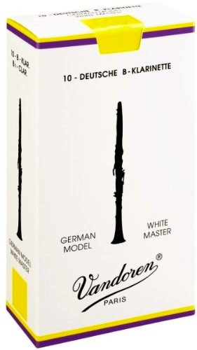 Vandoren Blatt B-Klarinette Deutsch 3,0 White Master
