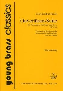 Ouvertüren Suite georg Friedrich Händel Klavierauszug