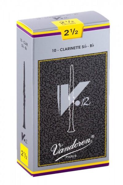 Vandoren Blatt V 12 Klarinette Bb 2,5 Einzelblatt