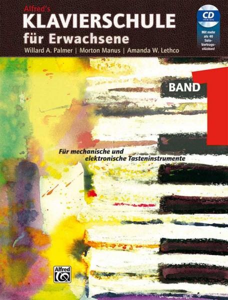 Alfreds Klavierschule für Erwachsene Band 1 mit CD