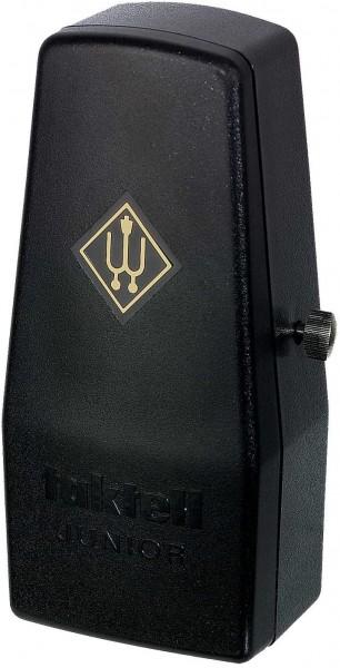 Wittner Taktell Junior Metronom Kunststoffgehäuse ohne Glocke schwarz