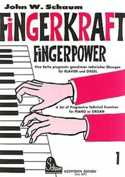 Fingerkraft Band 1 von John W. Schaum