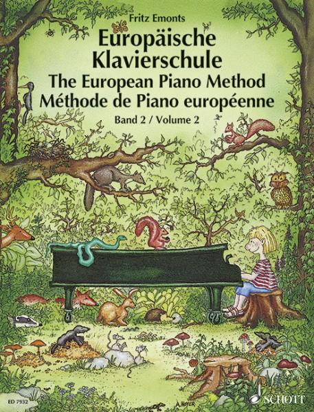 Europäische Klavierschule Band 2 Fritz Emonts