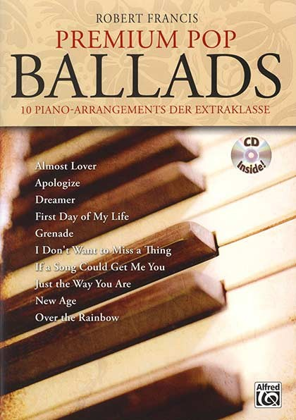 Premium Pop Ballads for Piano