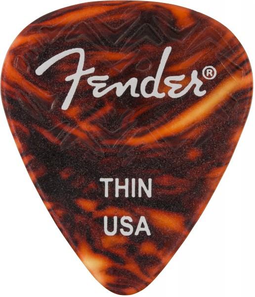 Fender Plektren medium 1VE mit 12 Stück