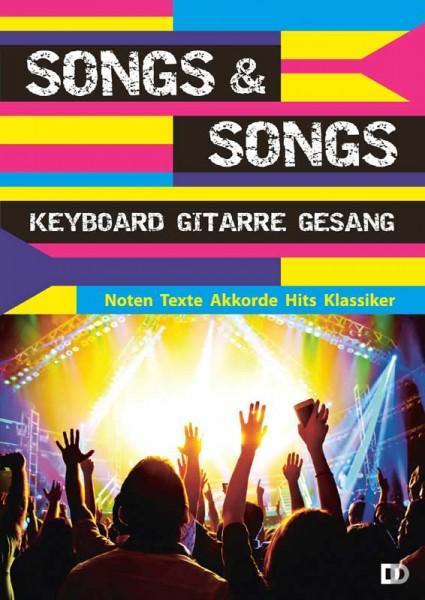 Songs & Songs Keyboard Gitarre Gesang