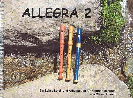 Allegra 2 Sopranflötenschule Band 2 mit Kärtchen