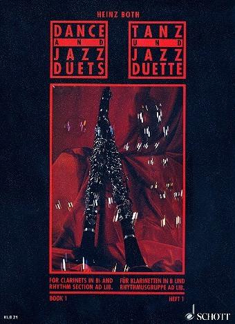 Dance und Jazz Duette für Klarinette Band 1 von Heinz Both