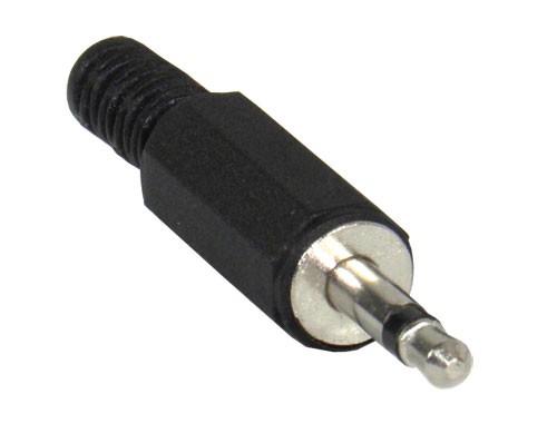 Schulz Kabel Miniklinkenstecker mono 3,5 mm plastik