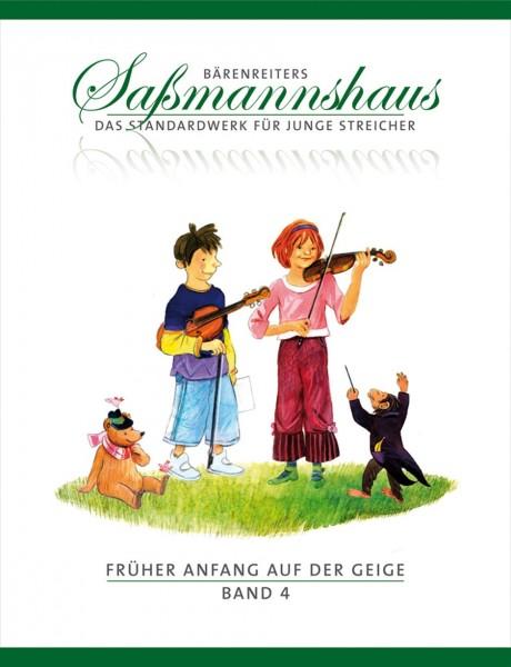Früher Anfang auf der Geige. Saßmannshaus Band 4