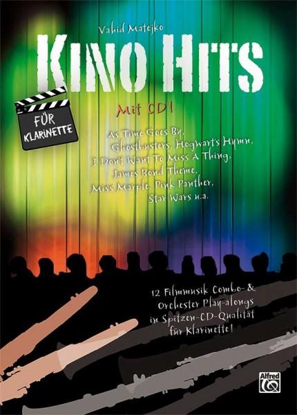 Kino Hits mit CD für Klarinette Vahid Matejko