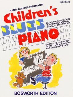 Childrens Blues Piano von Hans Günter Heumann