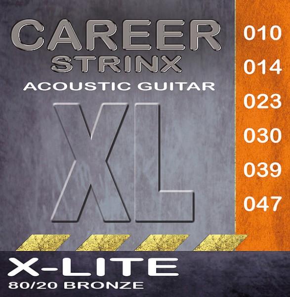 Career Acoustic Gitarren Saiten XL Extra Ligth