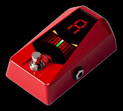 KORG Stimmgerät, Pedal, Pitchblack Advance, rot metallic
