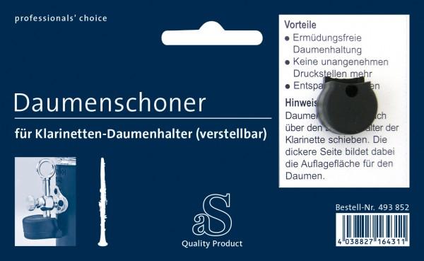 Daumenschoner für Klarinette verstellbar