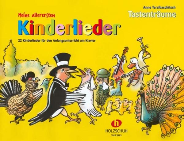 Tastenträume Meine allerersten Kinderlieder Anna Terzibaschitsch