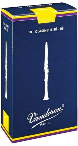 Vandoren Blätter Classic Klarinette Bb Boehm 1,5