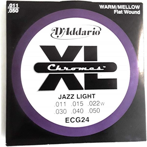 Daddario Elektro Gitarren Saiten Chromes Jazz Light