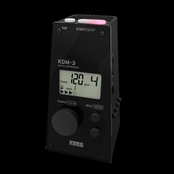 KORG Metronom, KDM-3, digital, schwarz