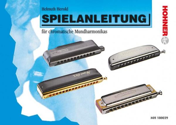 Spielanleitung für chromatische Mundharmonika Helmuth Herold