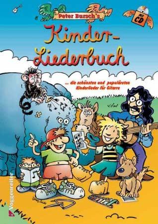 Kinderliederbuch für Gitarre von Peter Bursch