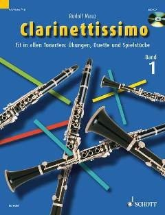 Clarinettissimo Band 1. 1-2 Klarinetten