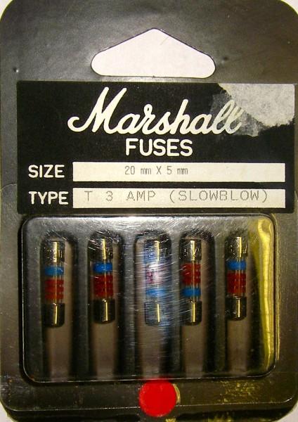 Marshall Sicherungen für Verstärker