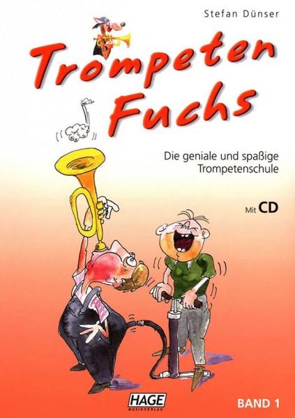 Trompetenfuchs Band 1 mit CD von Stefan Dünser