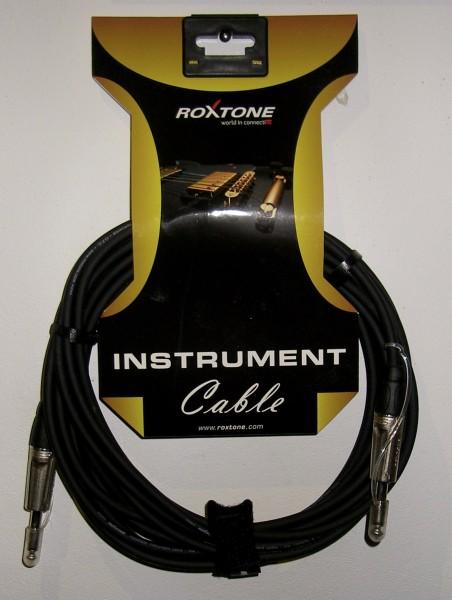 Roxtone Instrumenten Kabel 6m Klinke/Klinke