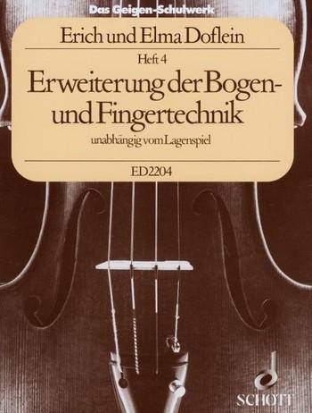 Das Geigenschulwerk von E.Doflein Heft 4