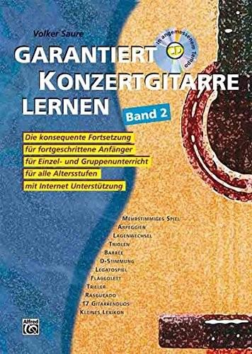 Garantiert Konzertgitarre Lernen Band 2