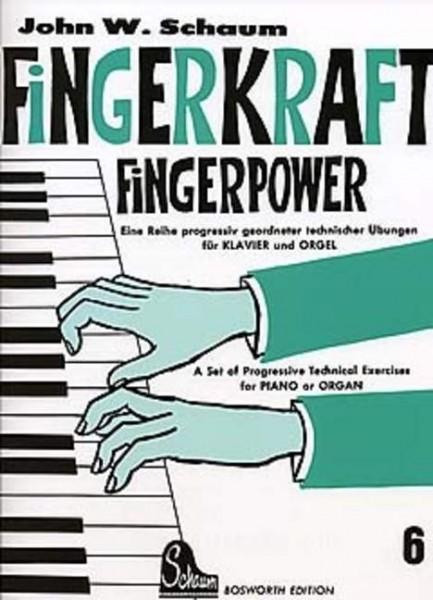 Fingerkraft Band 6 von John W. Schaum
