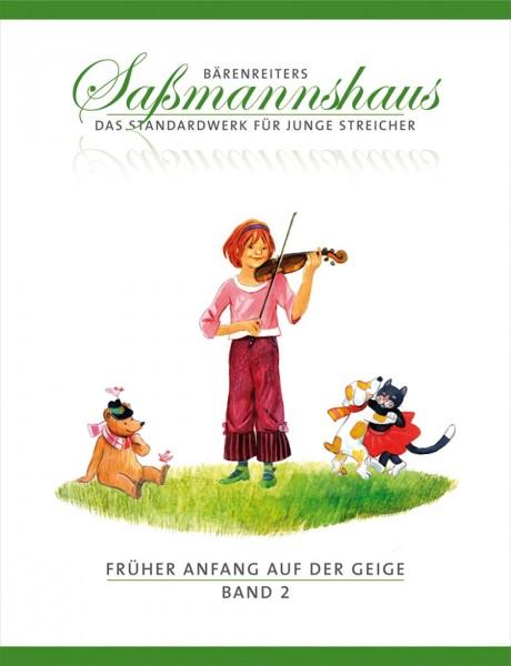 Früher Anfang auf der Geige. Saßmannshaus Band 2