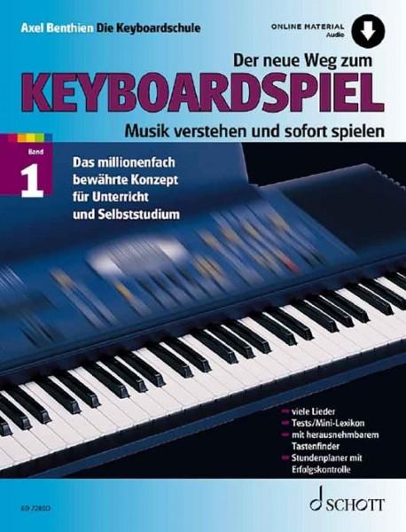 Der neue Weg zum Keyboardspiel mit Online Material Band 1