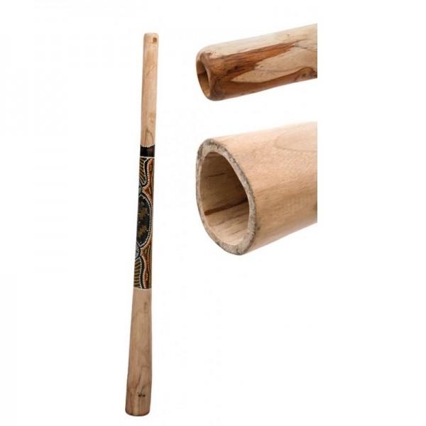 Didgeridoo Teak 130cm bemalt