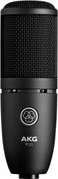 AKG P120 Kondensatormikrofon mit 2/3-Zoll-Membran.
