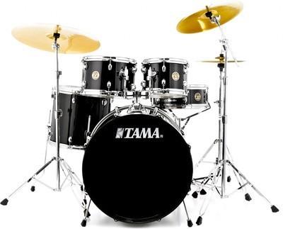 Tama Rhythm Mate Studio Drum Set Black