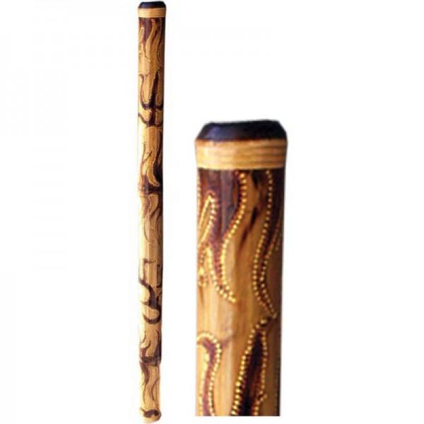 Didgeridoo Bambus 118 cm beflammt-bemalt