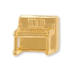 Anstecker Klavier vergoldet