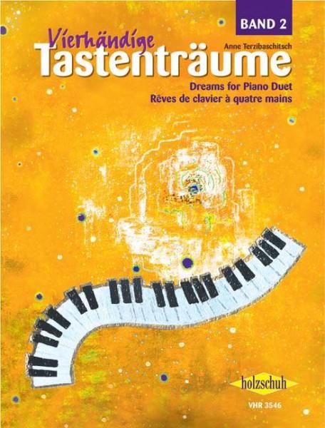 Vierhändige Tastenträume Band 2 Anna Terzibaschitsch