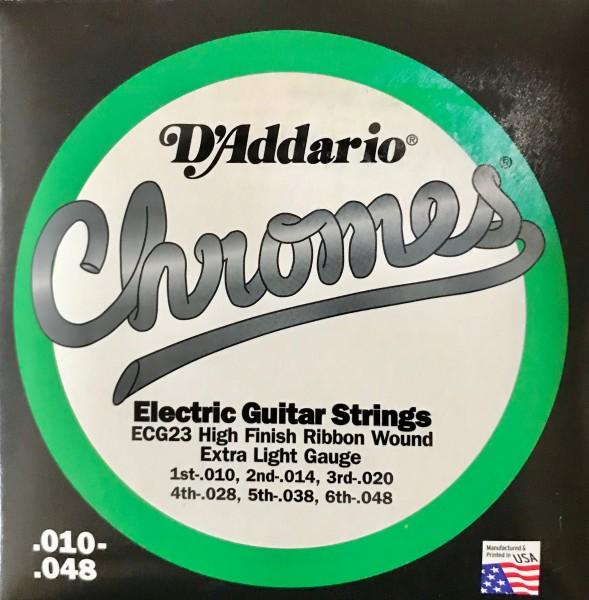Daddario Elektro Gitarren Saiten ECG 23 Chromes