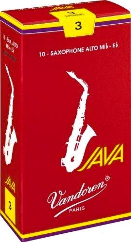 Vandoren Blatt JAVA Red Saxophon Alt 3,0 Einzelblatt