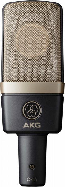 AKG C 314 Großmembran-Mikrofon,
