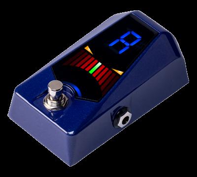 KORG Stimmgerät, Pedal, Pitchblack Advance, blau metallic