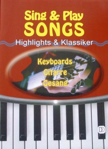 Sing & Play Songs Keyboard, Gitarre, Gesang