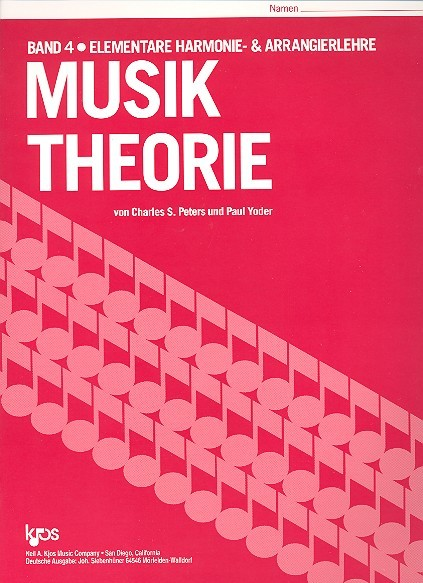 Musik Theorie Band 4 Charles Peters, Paul Yoder