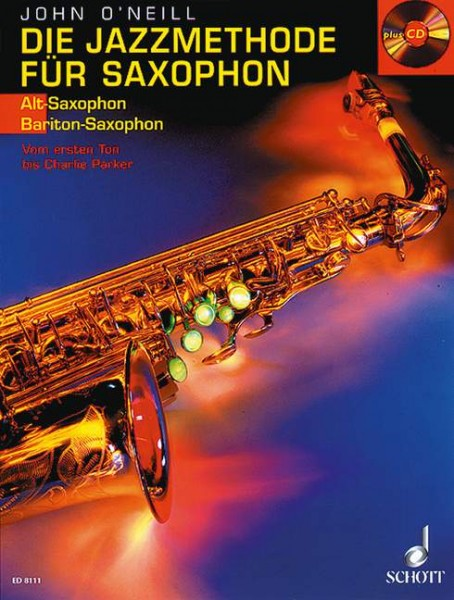 Die Jazzmethode für Saxophon Band 1 Vom ersten Ton bis Charlie Parker - Saxophon in Es