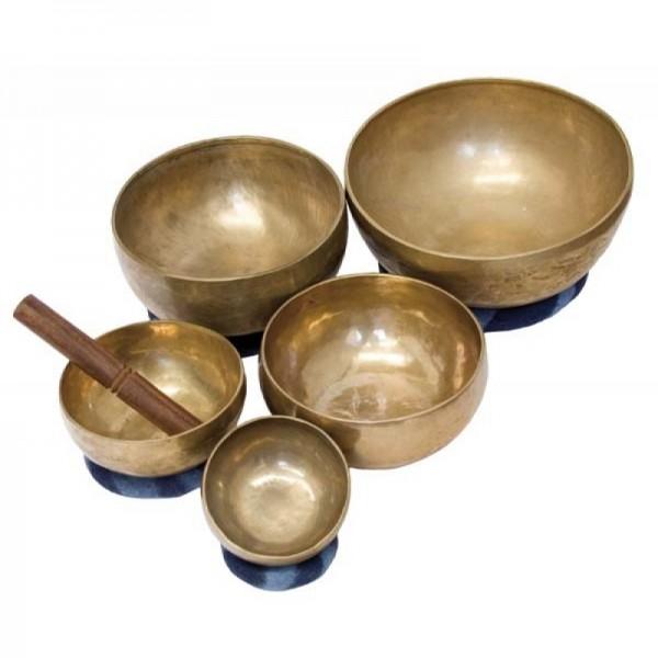 Klangschale 800 gramm Messing-Bronze